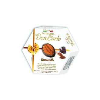 Sladké pečivo - Sušenky kakaové s čokoládou DON CARLO 100 g