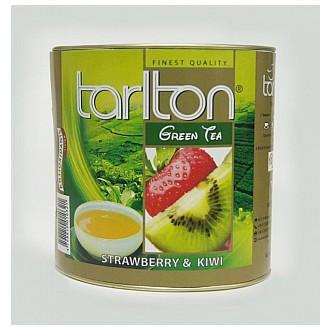 Čaj - TARLTON Green Strawberry & Kiwi dóza 100 g