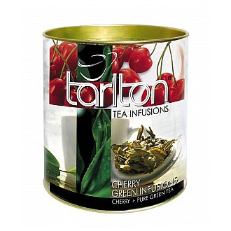 Čaj - TARLTON Green Cherry dóza 100 g