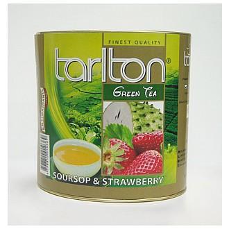 Čaj - TARLTON Green Soursop & Strawberry dóza 100 g