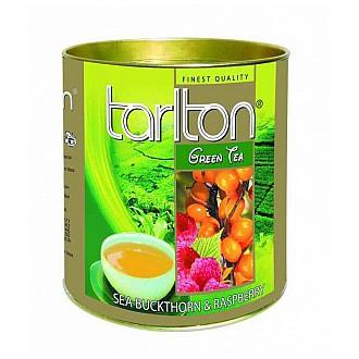Čaj - TARLTON Green Raspberry & Seabuckthorn dóza 100 g