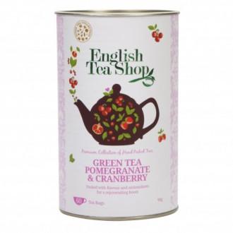 Čaj - ETS Granátové jablko, brusinka, zelený čaj 60 sáčků