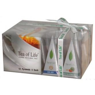 Čaj - Tea of Life Black Collection 12 pyramidek 24 g