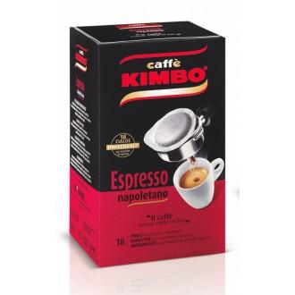 Kapsle - Pody - Kimbo Espresso Napoletano ESE pody 18 ks