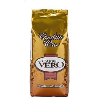 Zrnková káva - Caffe Vero Qualita Oro káva zrnková 1000 g