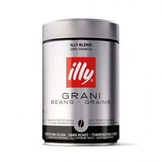 Zrnková káva - Illy 100% Arabica Dark káva zrnková 250 g