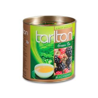 Čaj - TARLTON Green Blackberry dóza 100g