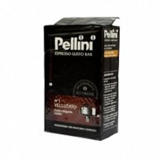 Mletá káva - Pellini Gusto Bar n1 Vellutato káva mletá 250 g