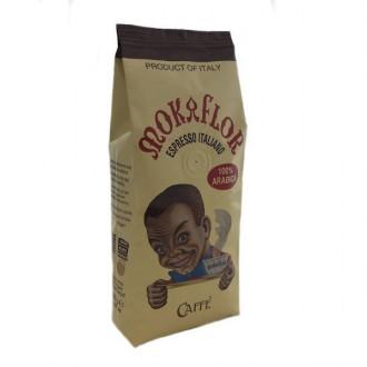 Zrnková káva - Mokaflor Moretto 100% Arabica káva zrnková 250 g