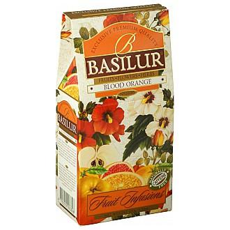 Čaj - BASILUR Fruit Blood Orange papír 100 g