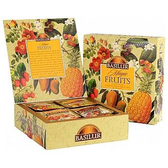 Čaj - BASILUR Magic Fruits Assorted přebal 40 sáčků