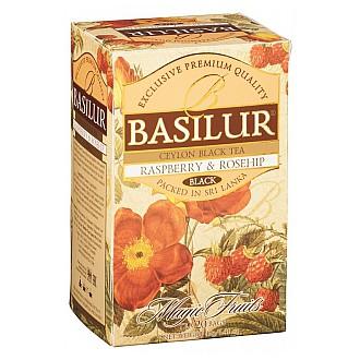 Čaj - BASILUR Magic Raspberry & Rosehip přebal 20x2 g