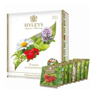 Čaj - Hyleys 9 čajových chutí - Luxusní dárková sada 100 x 1,5g