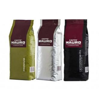 Zrnková káva - Mauro degustační balíček 3x 1000 g