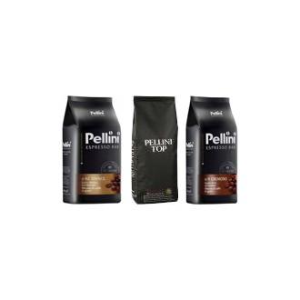 Zrnková káva - Pellini degustační balíček káva zrnková 3 x 1000 g