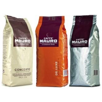 Zrnková káva - Mauro degustační balíček káva zrnková 3x 1000 g