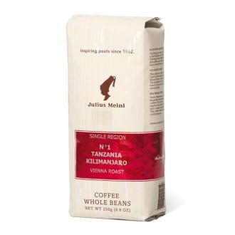 Zrnková káva - Julius Meinl No1 Tanzania Kilimanjaro káva zrnková 250 g