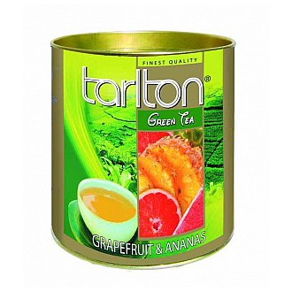 Čaj - TARLTON Green Grapefruit & Pineapple dóza 100 g