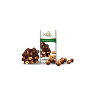 Čokoláda - Heidi Grand Or Hořká čokoláda karamelizované ořechy 100 g