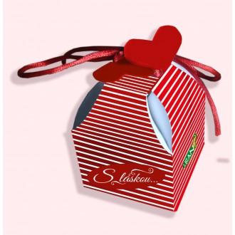 Čaj - S láskou - krabička červený proužek 2 g