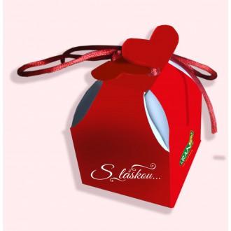 Čaj - S láskou - červená krabička 2 g