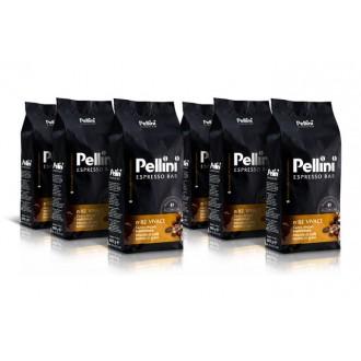 Zrnková káva - Pellini Espresso Bar 82 Vivace káva zrnková 6 x 1000 g