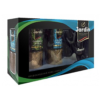 Instantní káva - JARDIN dárková sada instantních káv 2 x 95g + hrnek