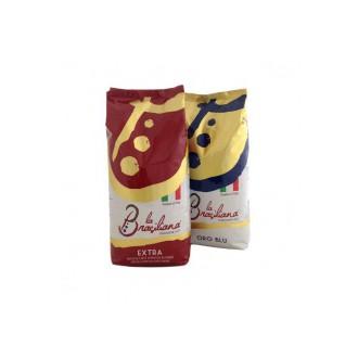 Zrnková káva - La Brasiliana Gourmet Set 2 x 1000 g