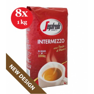 Zrnková káva - Segafredo Intermezzo zrnková káva 8 x 1000 g