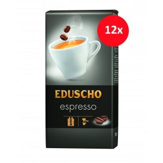 Zrnková káva - Eduscho Espresso káva zrnková 12 x 1000 g