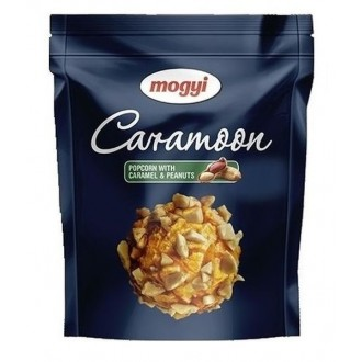 Chipsy + Popcorn + Bonbóny - Popcorn CARAMOON CARAMEL & PEANUTS 70 g