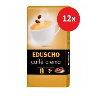 Zrnková káva - Eduscho Caffé Crema káva zrnková 12 x 1000 g