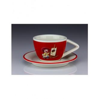 Příslušenství - Raffaello lem červený velký 180 ml