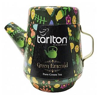 Čaj - TARLTON Tea Pot Green Emerald Green Tea plech 100 g