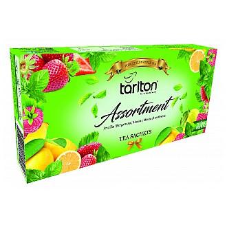 Čaj - TARLTON Assortment 5 Flavour Green Tea 100 x 2 g