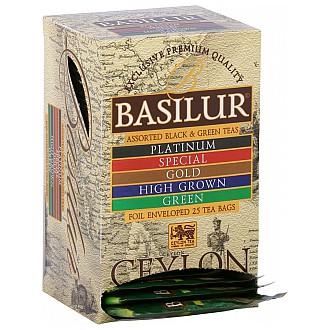 Čaj - BASILUR Island of Tea Assorted přebal 20 x 2 g a 5 x 1,5 g