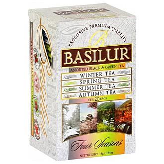 Čaj - BASILUR Assorted Four Seasons přebal 10 x 1,5 g a 10 x 2 g