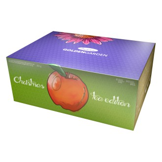 Vánoční čaje - Maxi kolekce GOLDEN GARDEN sáčky 6 druhů x 10 ks x 2,5 g