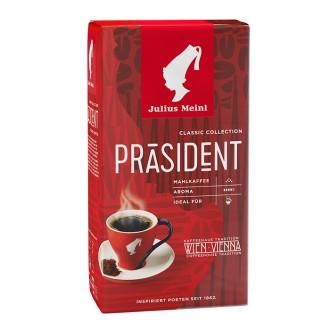 Mletá káva - Julius Meinl PRÄSIDENT Mahlkaffee kava mletá 250 g