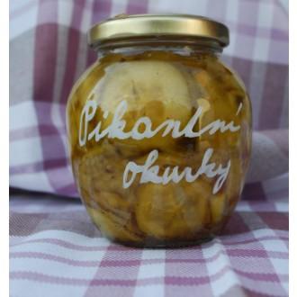 Potěšení ve skle - Pikantní okurky 350 g