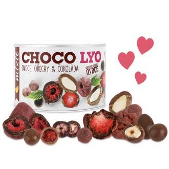 Oříšky + Ovoce - Mixit Křupavé ovoce s ořechy v čokoládě 180 g