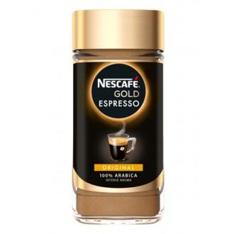 Instantní káva - NESCAFÉ GOLD Espresso instantní káva 100 g