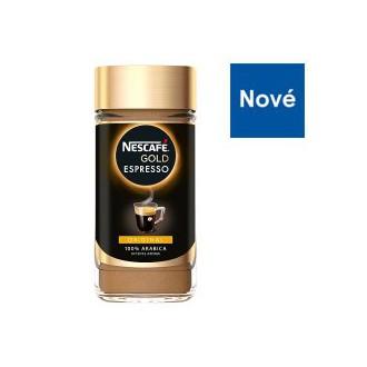 Instantní káva - NESCAFÉ GOLD Espresso instantní káva 200 g