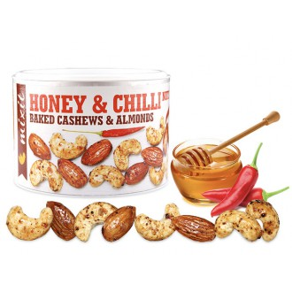 Oříšky + Ovoce - Mixit Oříšky z pece - med a chilli 140 g