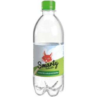 Nápoje - Pramenitá voda jemně perlivá 0,5 l