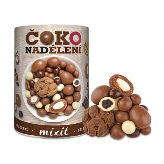Oříšky + Ovoce - Mixit Čokoládové nadělení 450 g