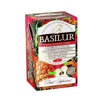 Čaj - BASILUR Fruit Infusions Assorted Volume II. přebal 20 x 1,8 g