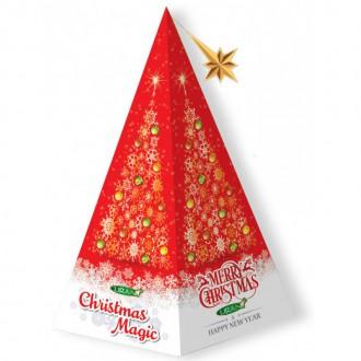 Vánoční čaje - CHRISTMAS MAGIC zelený čaj sáčky 20 ks x 2g