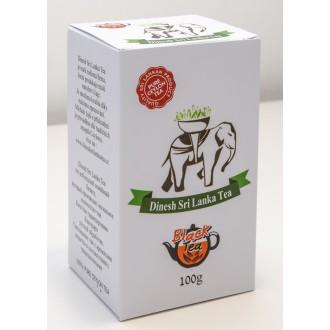 Čaj - Černý čaj DINESH SRI LANKA TEA sypaný - powder 100 g