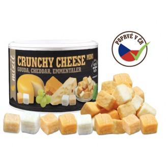 Oříšky + Ovoce - Mix křupavých sýrů: Gouda, Čedar, Ementál 135 g